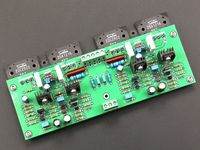 ZEROZONE Assembeld Dougls circuito 2SC2922/A1216 Stereo amp board 30 120W * 2 L5 29 Amplificador     -