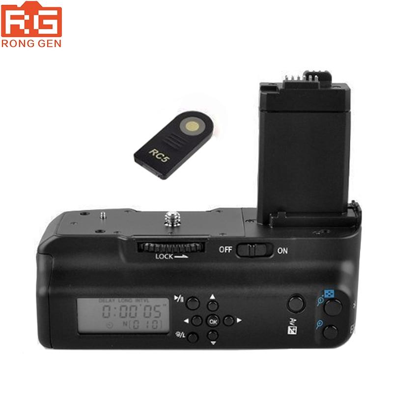 bilder für Meike MK-550DL LCD Timer Batteriegriff für Canon EOS 550D 600D 650D 700D/Rebel T2i T3i T4i T5i Digitale Slr-kamera