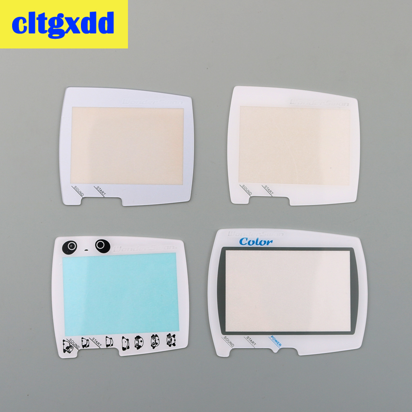 Cltgxdd Protector Plastic Glass Screen Lens Replacement For BANDAI For WSC For Wonderswan Handheld Game Console Screen Lens