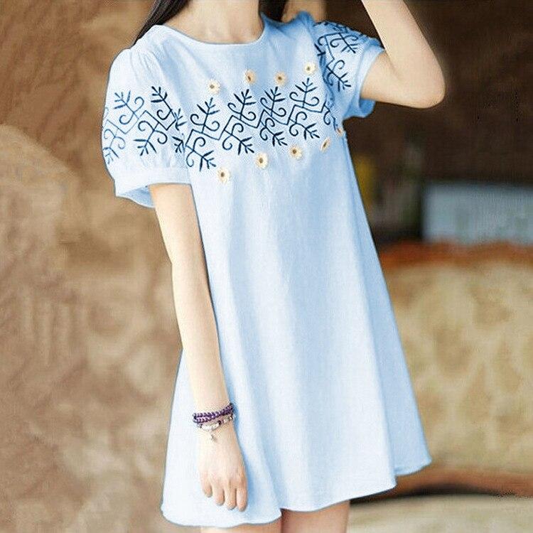दक्षिण कोरिया में नई गर्मियों में लंबे मातृत्व पहनने वाले कम बाजू की मातृत्व पोशाक गर्भवती महिलाओं की टी-शर्ट से ढीली हो जाती है