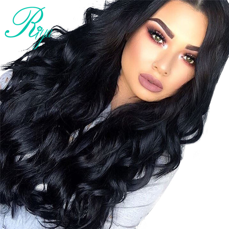Riya Hair Brazilian Human Hair Wigs Body Wave Lace Frontal Human Hair Wigs For Black Women
