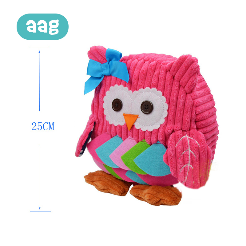 AAG Kids Cartoon Plush Backpack Toy Cute Animal Children Mini Plush School Kindergarten Backpack Baby Outdoor Snack Bags Toy in Plush Backpacks from Toys Hobbies