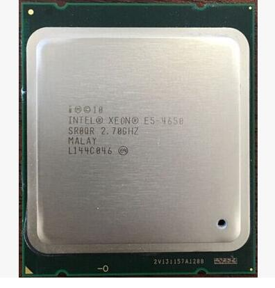 E5-4650 Best quality Original E5 4650 Xeon E5-4650 2.7GHz 8-Core 20MB SmartCache DDR3 1600MHz FCLGA2011 TPD 130W 1 year warranty