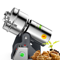 Coffe Grinder Stainless Steel Electric Flour Mill Crusher Grains Powder