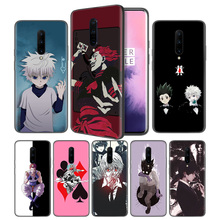 50z Anime hunter Soft Black Silicone Case Cover for OnePlus 6 6T 7 Pro 5G Ultra-thin TPU Phone Back Protective