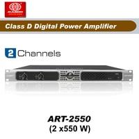Frete grátis  art2550  2 canais 550 w classe d amplificador amplifier class amplifier class d amplifier d -