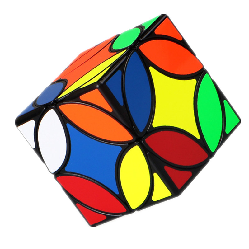 Mofangge QiYi Cubo Estranho em Forma de Moeda De Cobre Antiga Moeda Magic Cube Velocidade Enigma Cube Engraçado Brinquedo Educativo para As Crianças