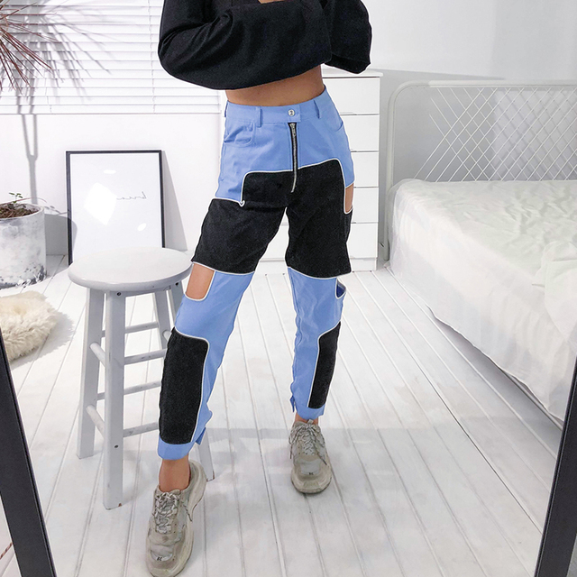 Harajuku Pants with High Waist for Women