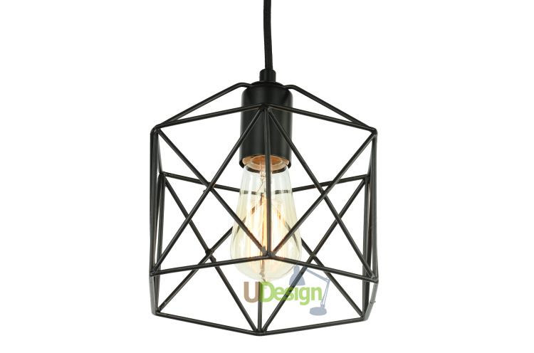 free shipping rh561 retro loft vintage style metal painting cage pendant lighting lampchina cage pendant lighting