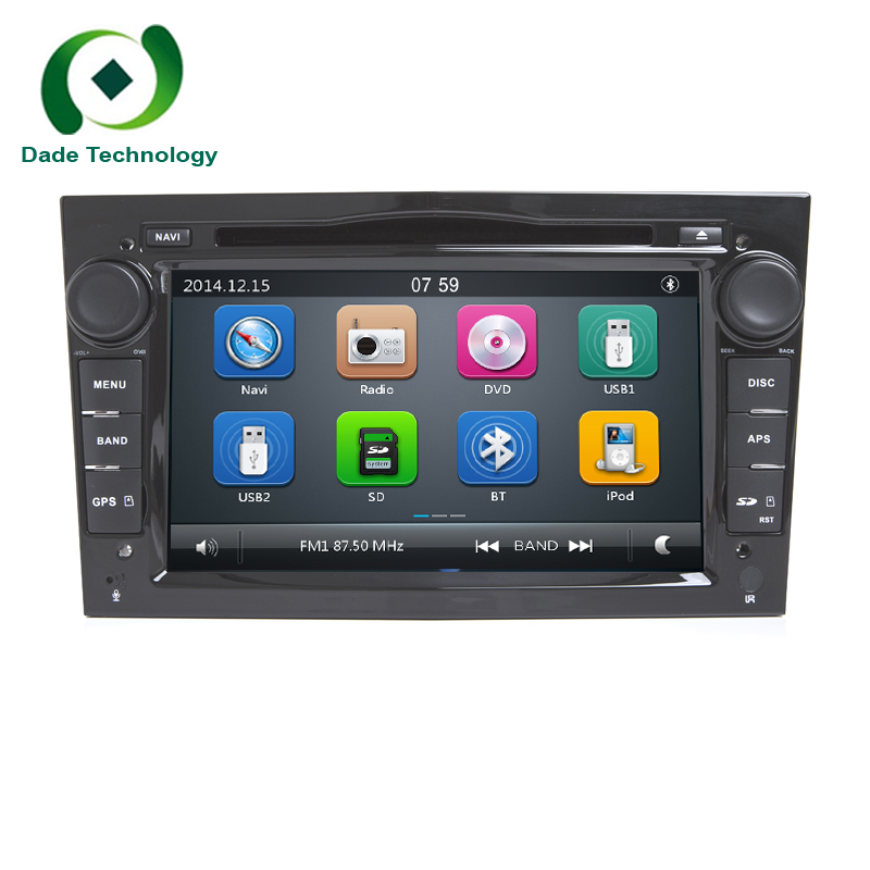 2 din car dvd player gps radio for opel astra h g j vectra. Black Bedroom Furniture Sets. Home Design Ideas
