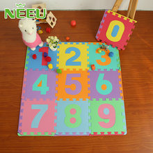 Good quality baby puzzle Play mats alphabet numbers Infant early education floor alfombra playmat environmentally non-toxic mat(China)