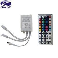 44 Keys or 24 Keys DC12V Dual Connectors Output IR Remote RGB Controller lamp Dimmer For 10M 5M 3528 2835 5050 LED Strip light RGB Controlers Lights & Lighting -