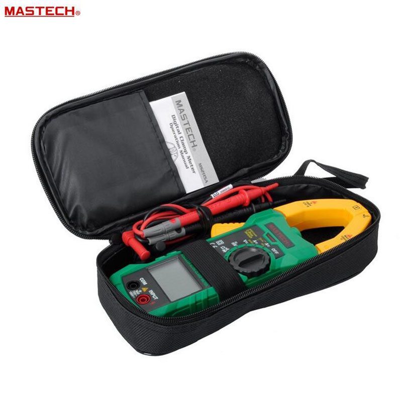 MASTECH MS2115A AC/DC 1000A Digital Clamp Meter auto range clamp meter measured clamp current meter tester auto range trms digital clamp meter 100mf hz ncv voltage detection mastech ms2115a
