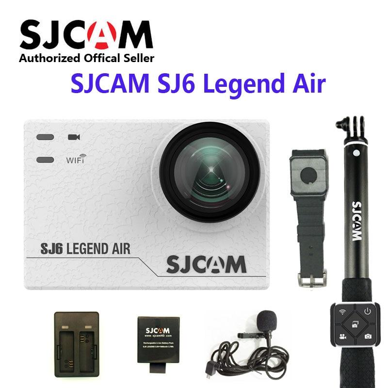 все цены на SJCAM SJ6 LEGEND Air 4K 24fps WiFi Ultra HD Remote Action Camera Notavek 96660 Waterproof Sports DV 2.0