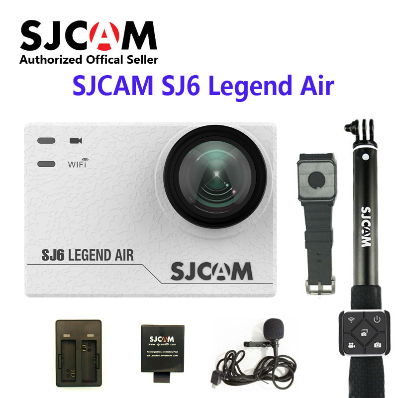 Ursprüngliche Sjcam Sj6 Legende Wifi 4 Karat 24fps Ultra Hd Notavek 96660 Wasserdicht Action-kamera 2 touch Screen Remote Sport Sport & Action-videokamera Unterhaltungselektronik