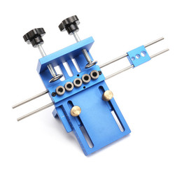 ALLSOME джиг из алюминиевого сплава дюбеля джиг набор деревянного дюбеля сверлильное положение джиг деревообрабатывающий инструмент HT1705