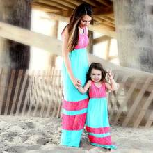 Eafreloy Mother Daughter Dresses Mommy And Me Family Matching Clothes Striped Family Matching Outfits Family Look