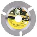 Высокоуглеродистая сталь 115*22 мм Универсальная 3 зубчатая циркулярная пила  шлифовальный станок  бензопила  диск для резки деревянной пилы  ...