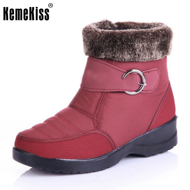 Super Gladiator Warm Women's Winter Snow Boot Ladies Outdoor Snow Boots Leisure Flats Shoes Slip-On Footwear Size 36-40 nemaone 2017 gladiator snow boots women flats heels half short boot ladies warm plush winter boots leisure shoes woman