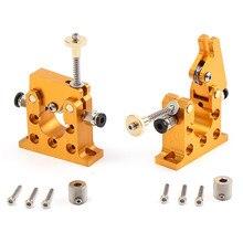 3D-принтеры части все металлические Боуден дистанционного экструдер комплект 1.75 мм для 3D принтер 42 Шаговый двигатель Интимные Аксессуары 90×70 мм
