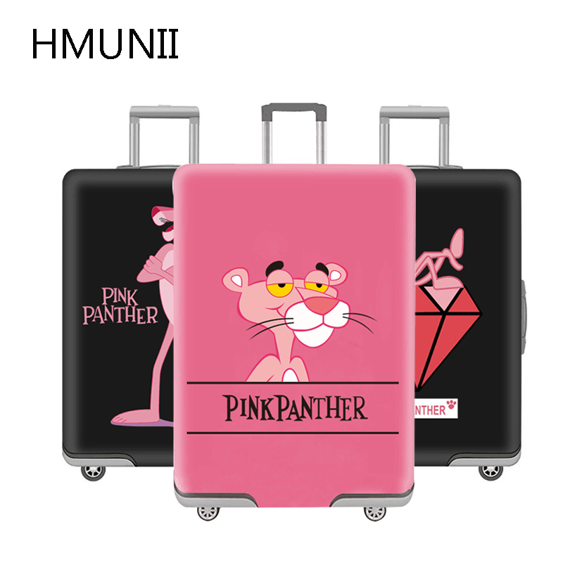 HMUNII 2020 New Fashion Travel Suitcase Protective Cover, Elastic Dust Luggage Cover For 18-32 Inch Trolley,Travel Accessories