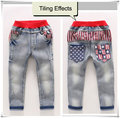 New Arrival Children Jeans Boys Girls Skinny Jeans Kids Fashion Denim Jeans  3-7 years Children Spring Autumn Long Pants