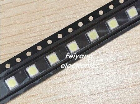 1000 шт. <font><b>LG</b></font> innotek светодиодный Светодиодный Подсветка 2 Вт 6 В <font><b>3535</b></font> холодный белый ЖК-дисплей Подсветка для ТВ Применение