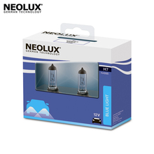 Галогеновая лампа головного света Neolux N499B-2SCB H7 цвет голубовато-белый 12В 55Вт 4000K (2 шт)