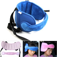 Baby Sleeping Pillow Car Seat Straps Head Support Kid Neck Protection Adjustable Headrest Sleep Positioner Stroller Accessories(China)