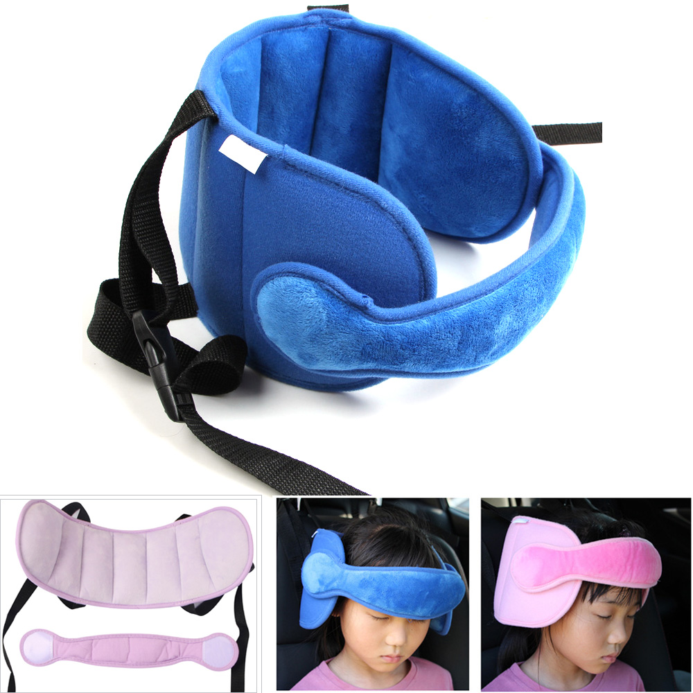 Baby Sleeping Pillow Car Seat Straps Head Support Kid Neck Protection Adjustable Headrest Sleep Positioner Stroller Accessories