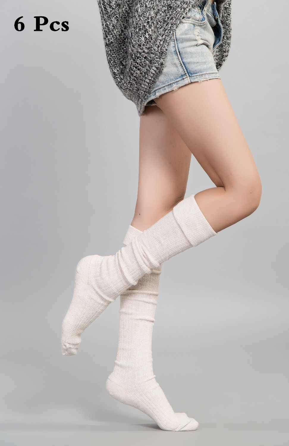 8c59eb9ef Feishilianyu Fashion Hot Sale Loose Socks For Women Solid Color Thigh High  Socks Summer Style Sexy