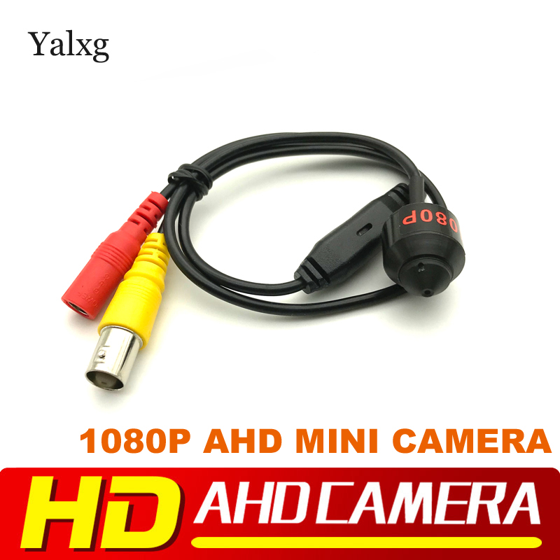 HD Mini Metal Bullet 1080P 1920*1080 AHD Surveillance Camera Kit CCTV H.264 3.7mm/1.8mm Lens 2.0MP Wired Color Security Camera