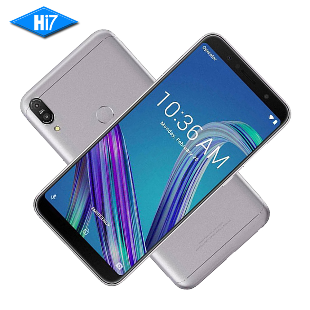 New ASUS ZenFone Max Pro M1 ZB602KL 3GB RAM 32GB ROM 6inch 18:9 FHD Snapdragon 636 Android 8.1 13MP 4G LTE Face ID Samrt Phone