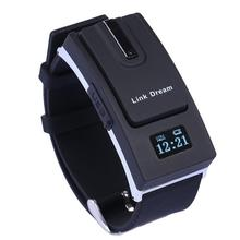 Link Dream 2 in 1 Detachable Bluetooth V3 0 Wristwatch Headset Smart Watch Sync Call Music
