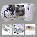 Classe B 23L Vacuum Vapor Dental Autoclave Esterilizador Certificado Do CE DHL FRETE GRÁTIS