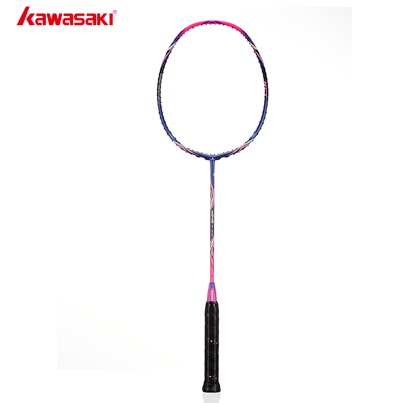 Kawasaki King K8 Badminton Racket Frame30T Offensive Type Airfoil Frame Structure Carbon Racquet For Amateur Intermediate Player