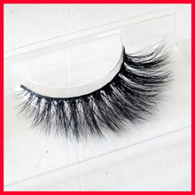 100% Real Siberian 3D Mink Full Strip False Eyelash Long Individual Eyelashes Mink Lashes Extension with magetic box