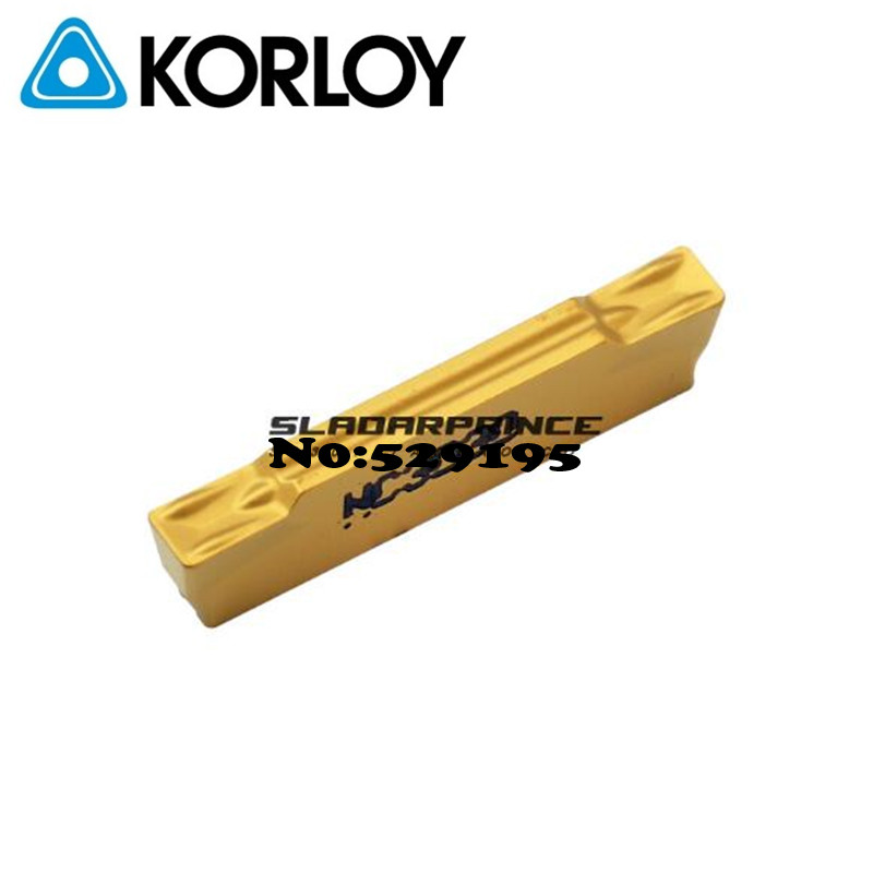 MGMN300 G NC3030 Two headed Cnc Cutting Korloy Carbide Coating Turning Insert