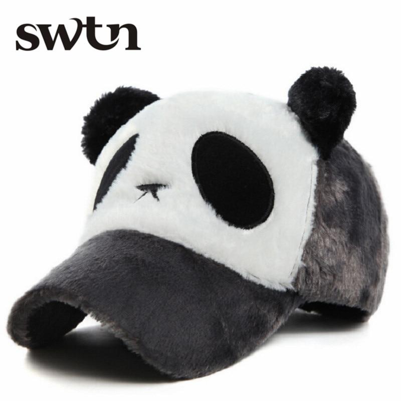 winter warm font cap cartoon panda bear baseball kung fu philippines