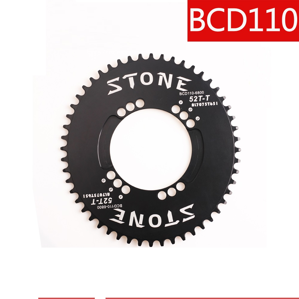 Bicycle BCD110 Chainring Oval Narrow Wide 48 50T 1 x System for Shi mano M5800 6800 bicycle parts