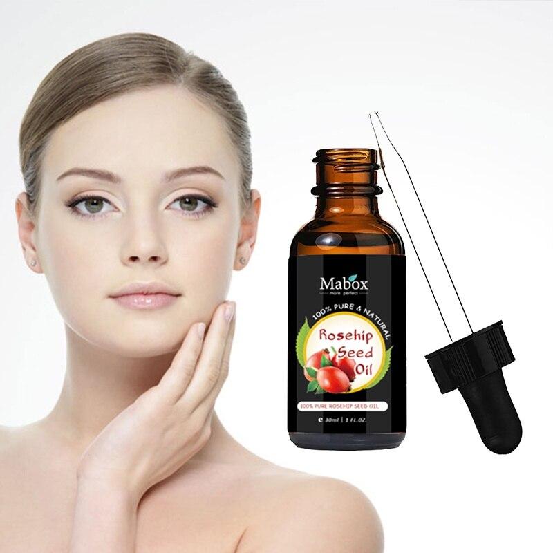 Органическое Масло шиповника для шрамы тонких линий и морщин растяжек обезвоженной старения для ухода за кожей лица Сыворотки