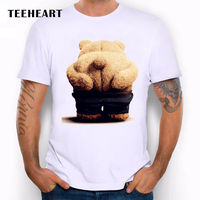 Поцелуй мой зад. Ted медведь фильм Кино вентилятор смешно шутка Для мужчин футболка