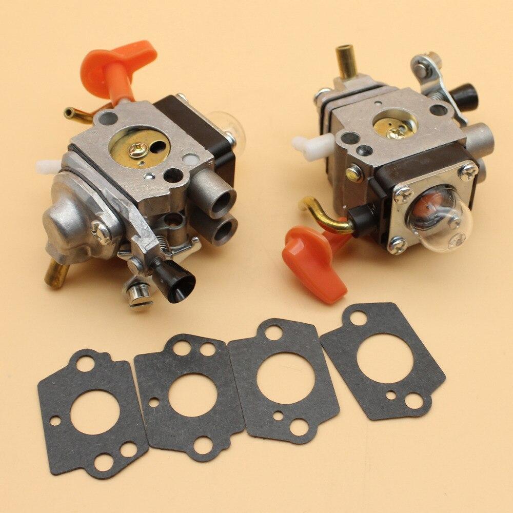 110R HL100 SP90T HT101 HL100K HT100 2Pcs STIHL For Carb HL95 Carburetor 110 KM 90 String HL90 90R 100R 100 Trimmer HL95K SP90