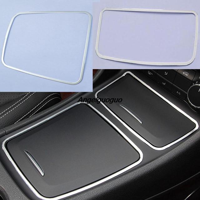Cadre de garniture de porte-boîte de rangement de cendrier de Console centrale de voiture pour Mercedes Benz A CLA GLA classe CLA200 220 260 W176 C117 W117 X156