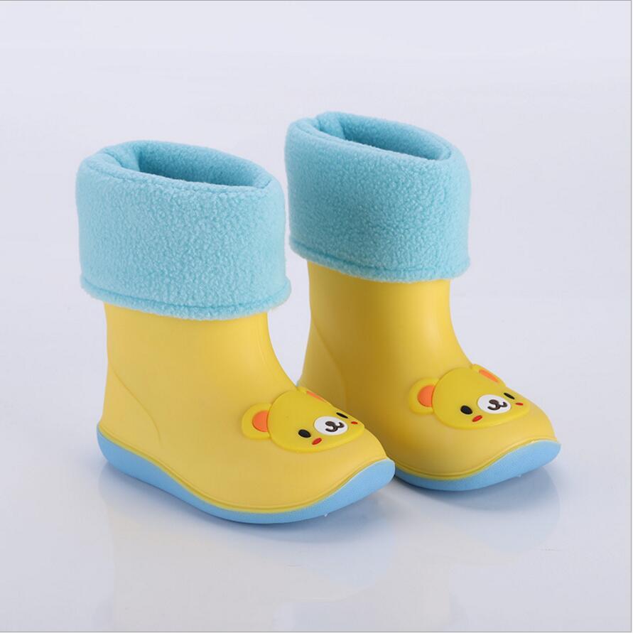 BeautyOriginal Children Rainboots Fashion Boot Non-Slip Waterproof Boots for Girls