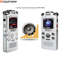 Fashion Voice Recorder Slim Rechargeable 8G 8GB Digital Audio Voice Recorder Dictaphone MP3 Player HQ Recorder gravador de voz