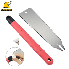 10-inch Double Edge Razor Saw Hand 6-10/18TPI Wood Cutter Pull For Garden Pruning Bamboo PVC DIY Woodworking Tool