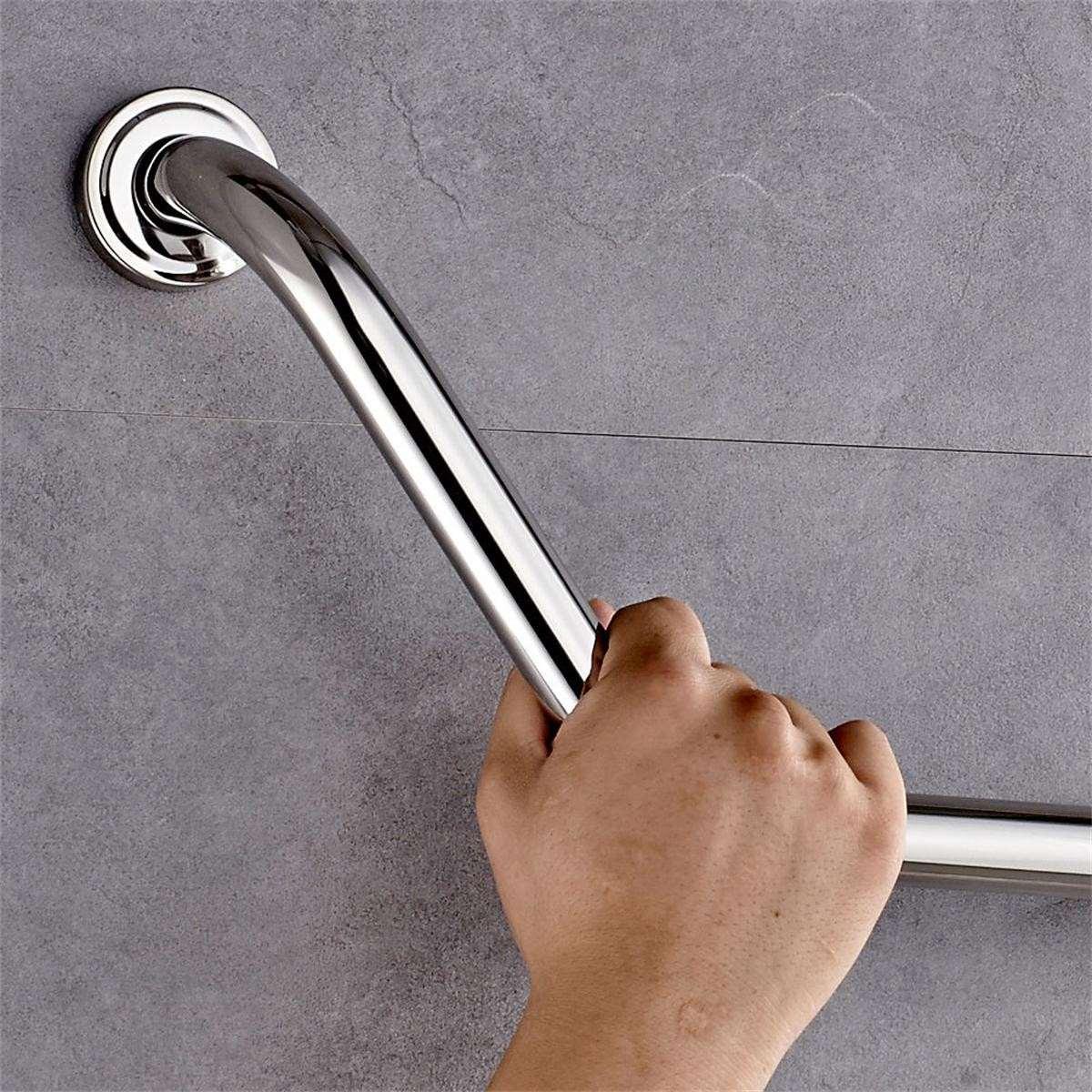 Wall Mount Stainless Steel Bathroom Bathtub Arm Safety Handle Grip ...
