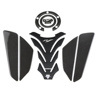 KODASKIN Motorcycle Carbon Tank Protector Pad Sticker Decal emblem GRIPPER STOMP GRIPS EASY for YAMAHA YZF1000 R1 R1M