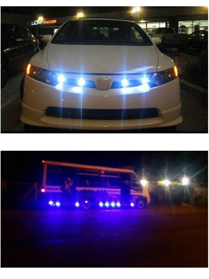 Yüksek güç ve fabrika satış 6 w led kartal göz sakladı - Araba Farları - Fotoğraf 6